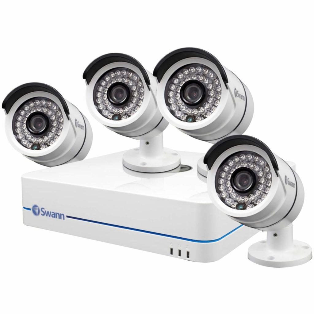 Готовые комплекты видеонаблюдения для квартиры
