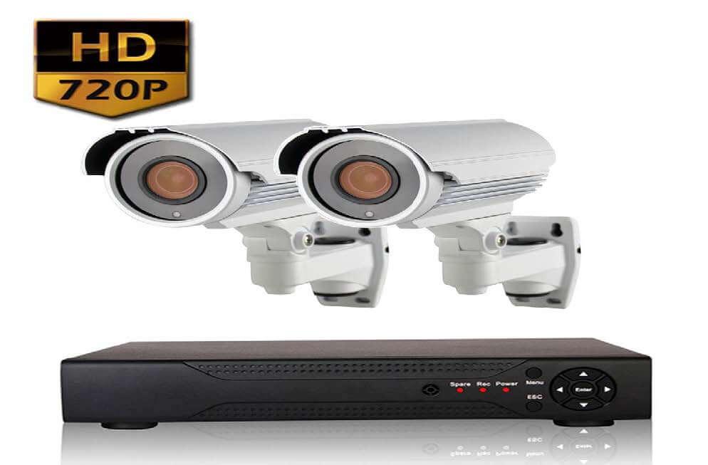 Готовые комплекты видеонаблюдения для квартир - 2 камеры