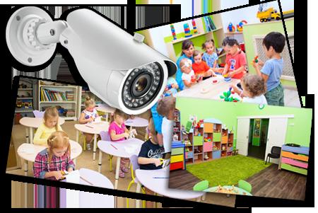 Требования к организации видеонаблюдения в детском саду