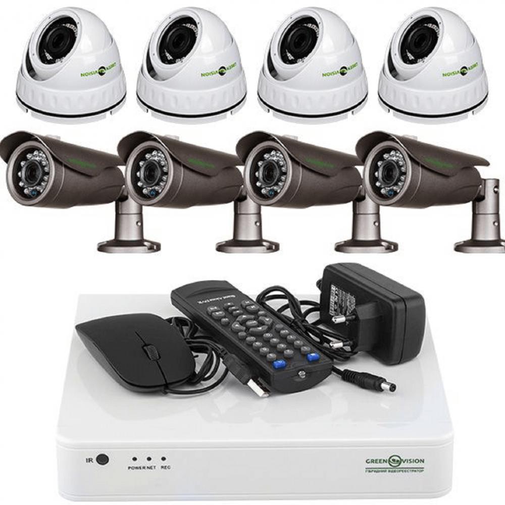 Комплекты видеонаблюдения для дачи