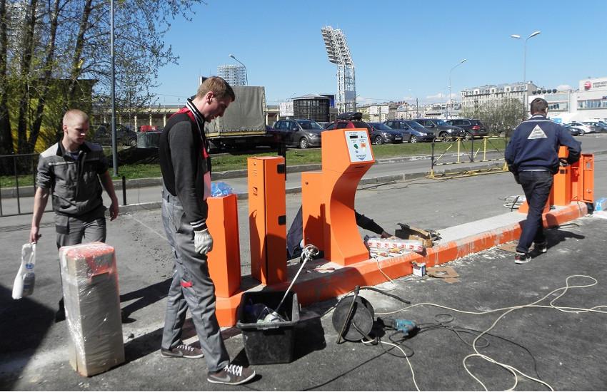 Монтаж автоматизированных парковок