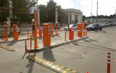 Установка автоматической парковки